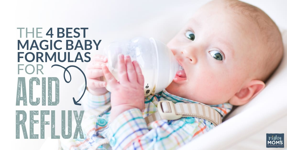 The 4 Magic Best Baby Formulas For Acid Reflux