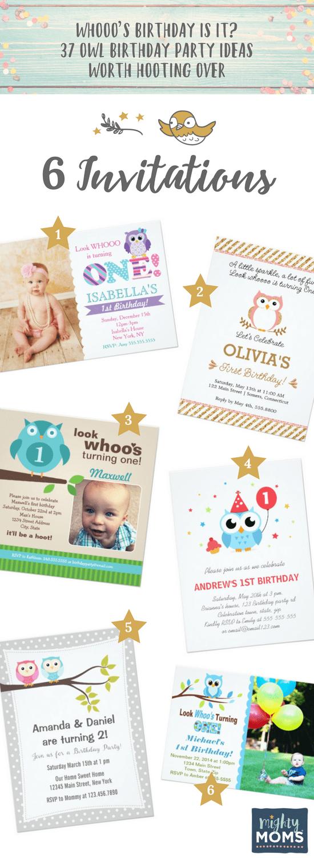 6 Invitation Ideas for an Owl Birthday Party - MightyMoms.club