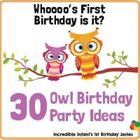 Whoooo's First Birthday Is It? 30 Owl Birthday Party Ideas Worth Hooting Over