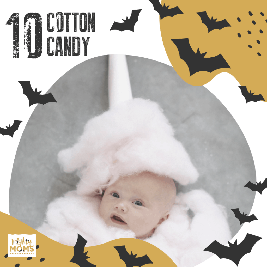 DIY Baby Costume - Cotton Candy