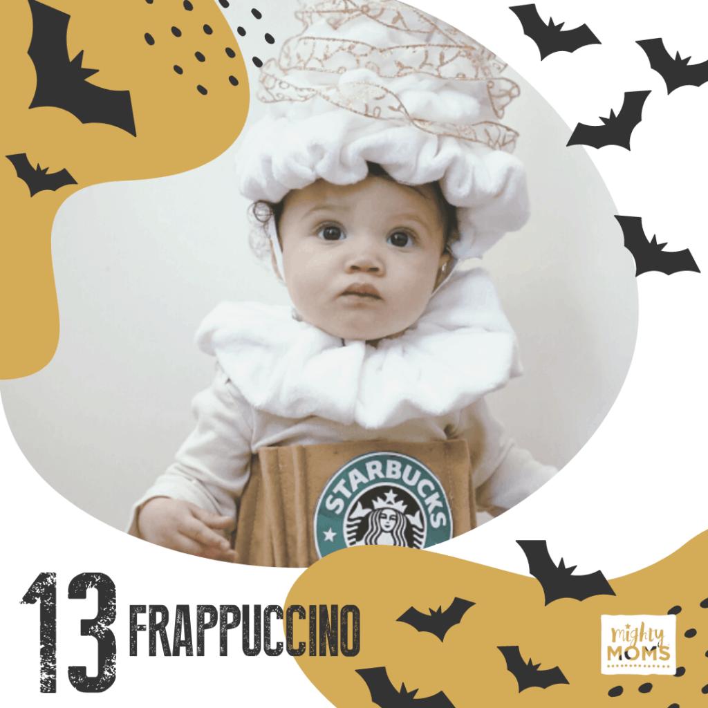 DIY Baby Costume - Frappuccino