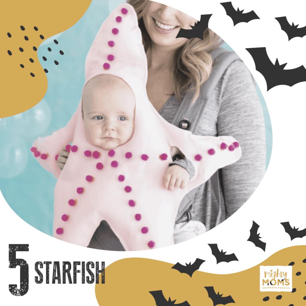 DIY Baby Costume - Starfish