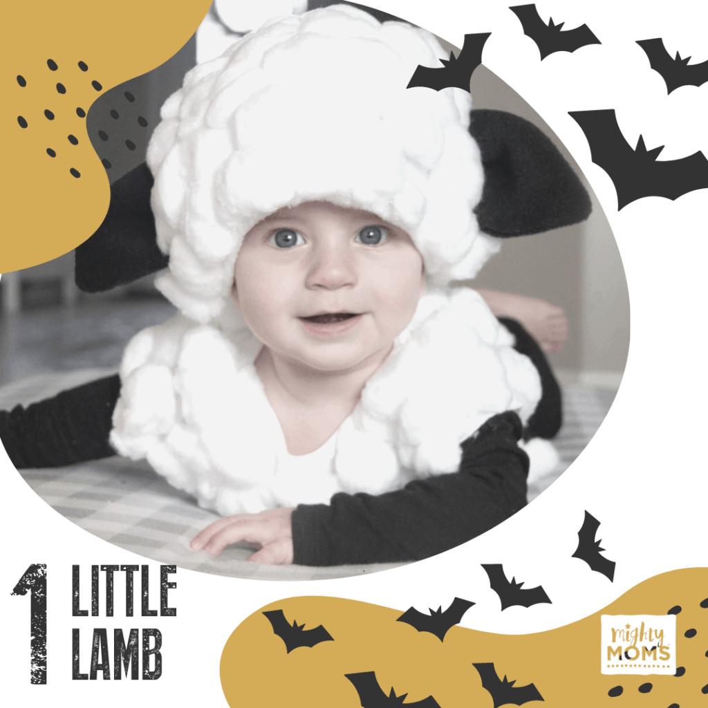 DIY Baby Costume - Lamb