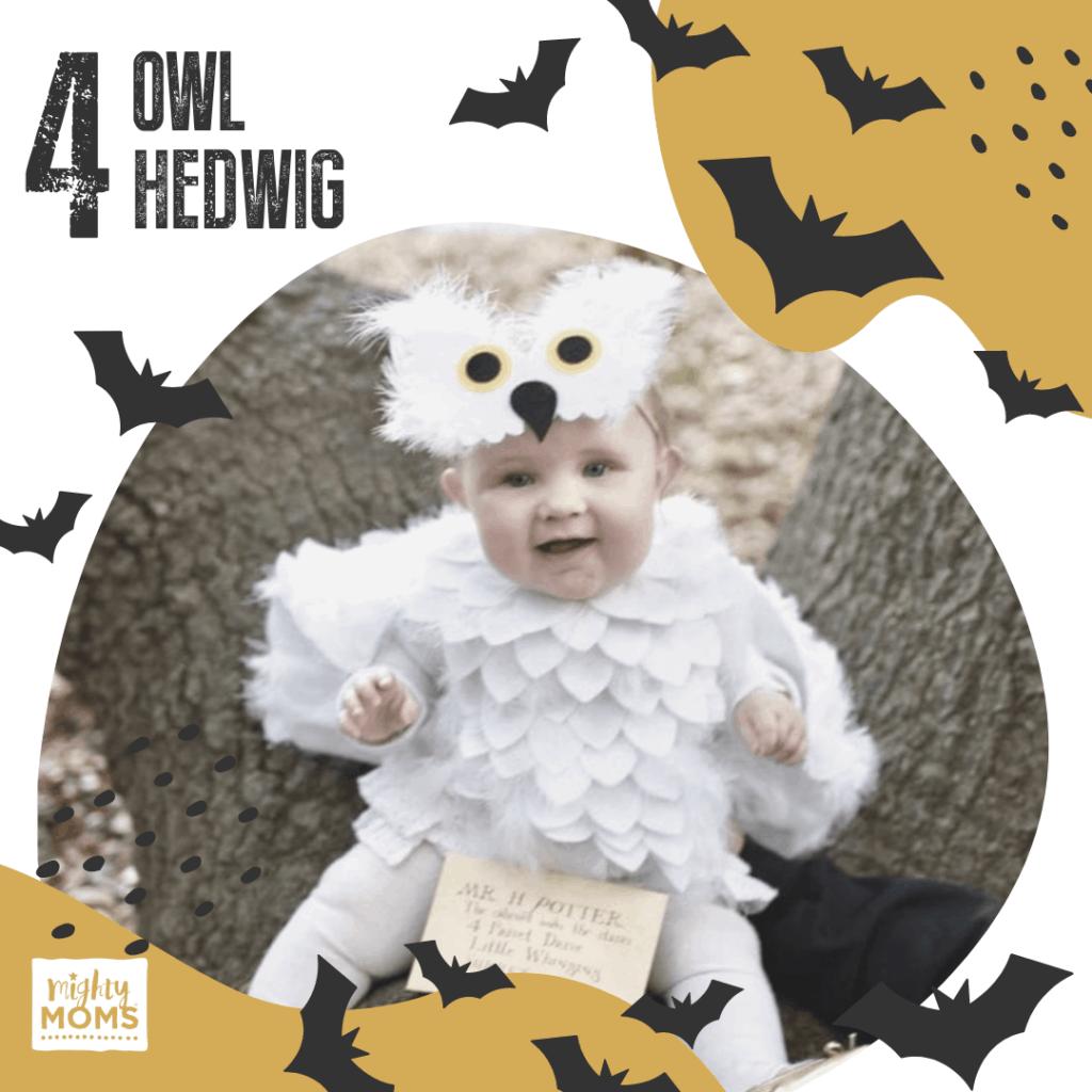 DIY Baby Costume - Owl