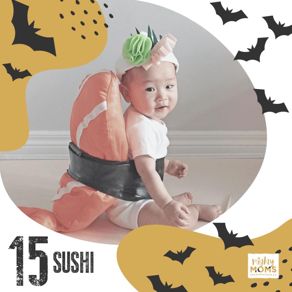 DIY Baby Costume - Sushie