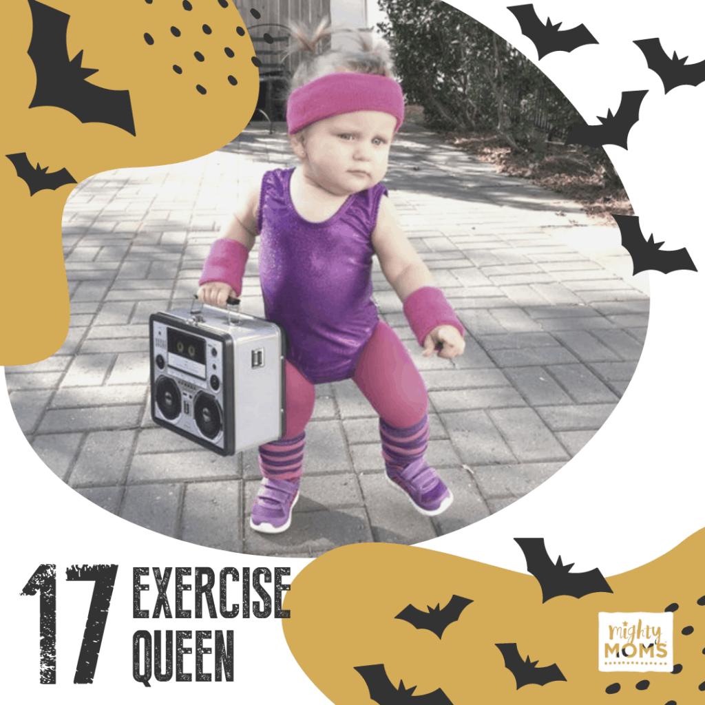 DIY Baby Costume - 80's Queen