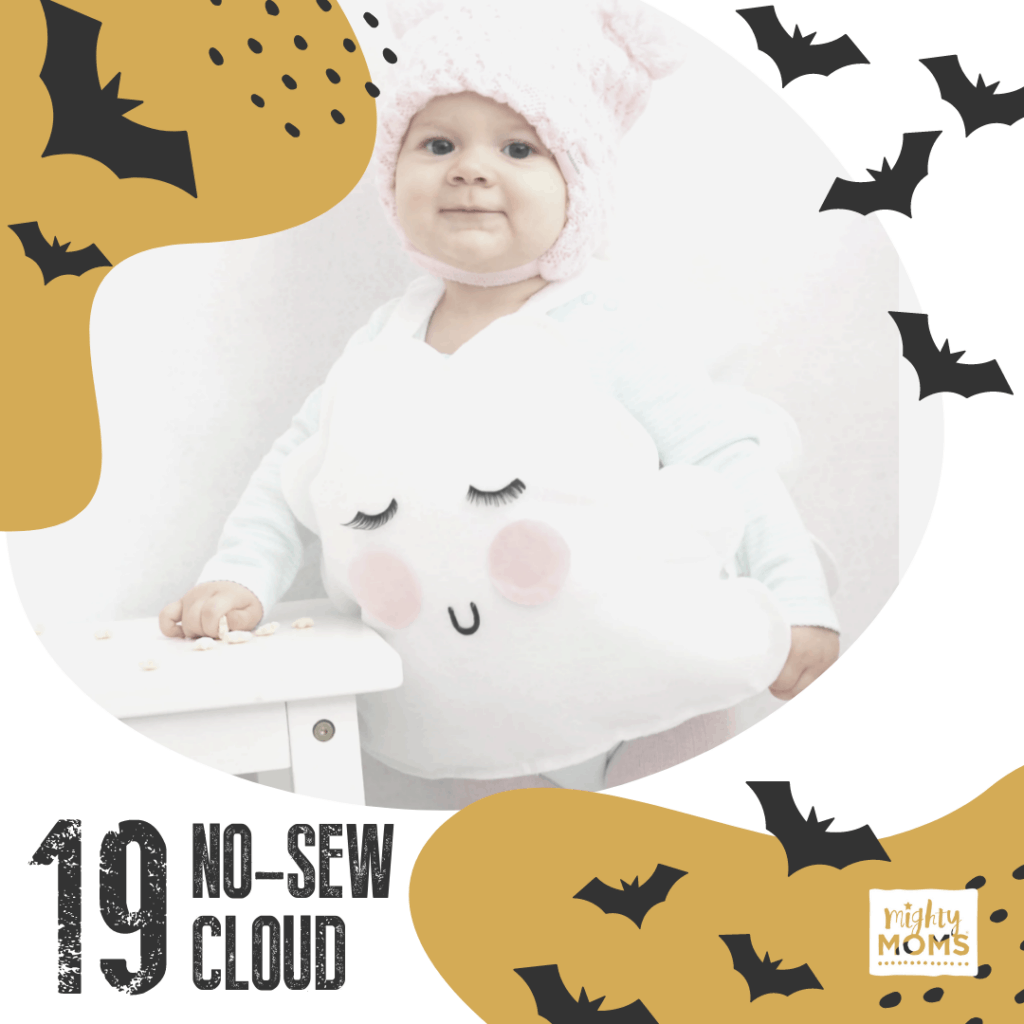 DIY Baby Costume - Cloud