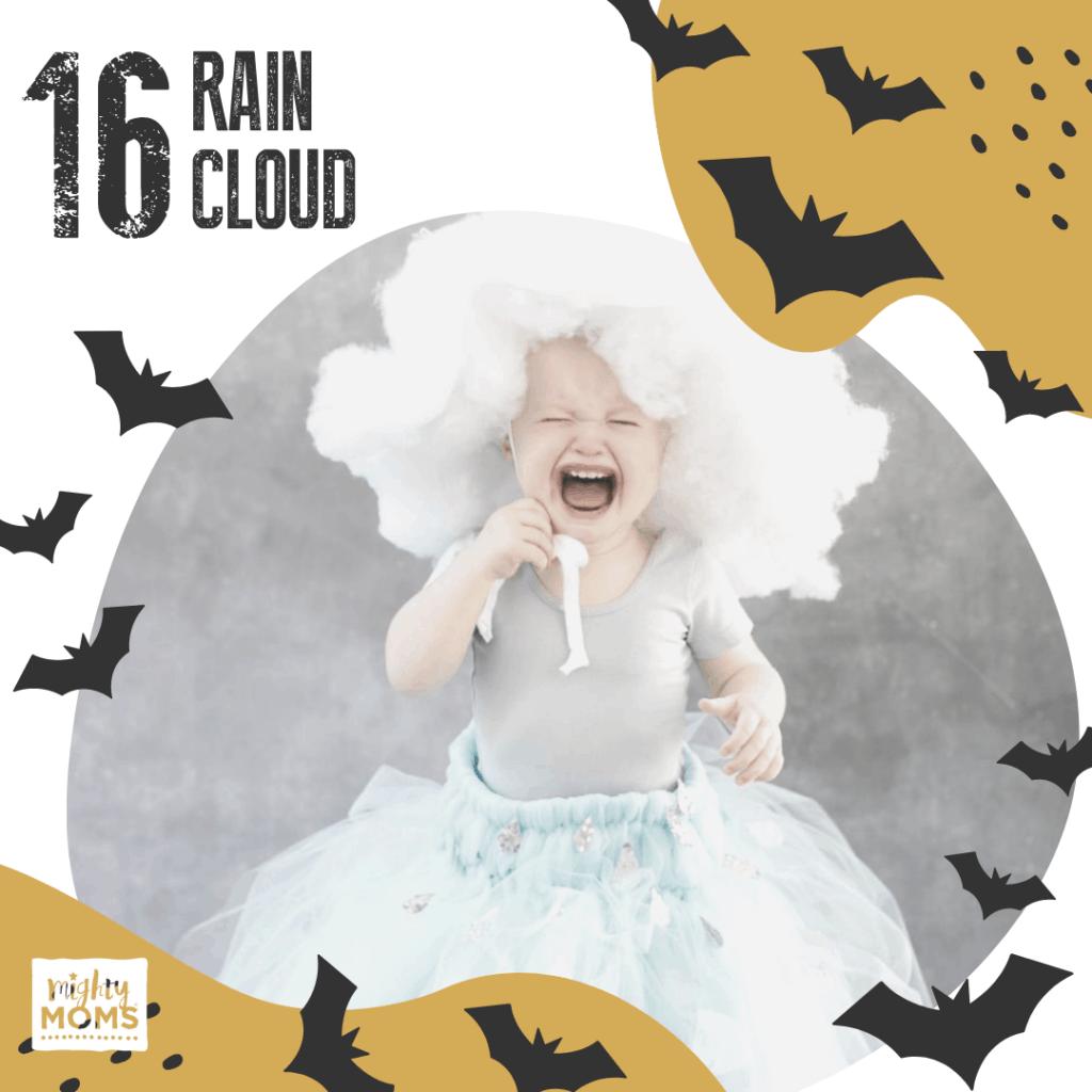 DIY Baby Costume - Rain Cloud