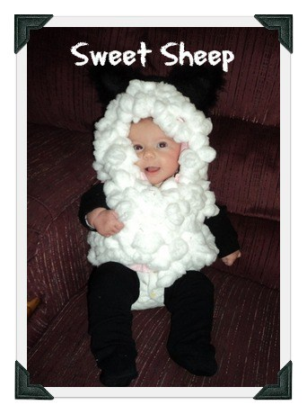 DIY baby costume for a sweet sheep - MightyMoms.club