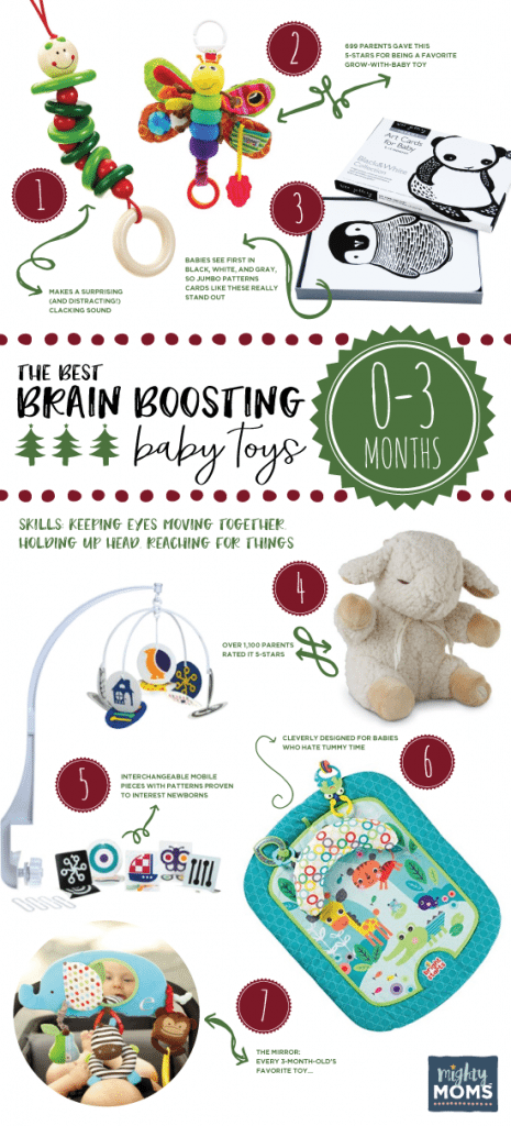 The Best Brain-Boosting Toys for 0-3 Month Olds ~ MightyMoms.club