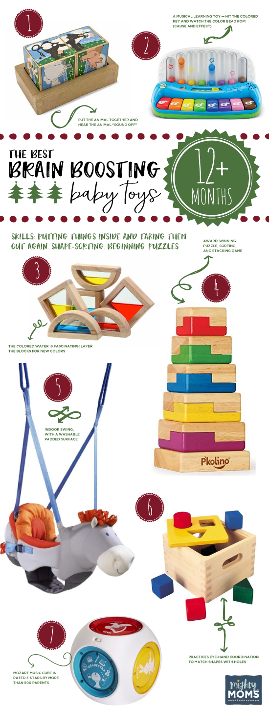 The Best Brain-Boosting Toys for 12-24 Month Olds ~ MightyMoms.club