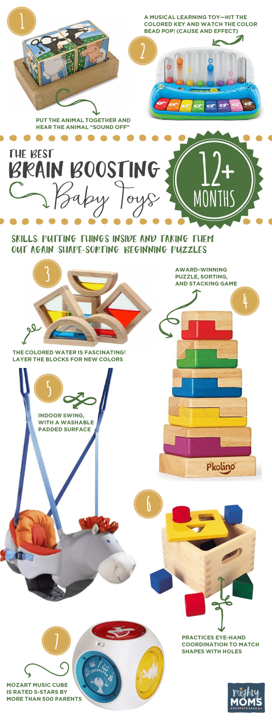 12+ Months: The Best Brain-Boosting Baby Toys: A Buying Guide for Smart Parents - MightyMoms.club