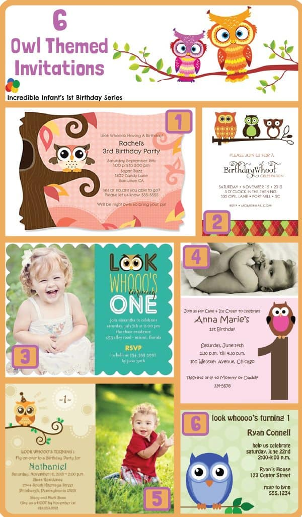 Whoooo\'s First Birthday Is It? 30 Owl Birthday Party Ideas ...