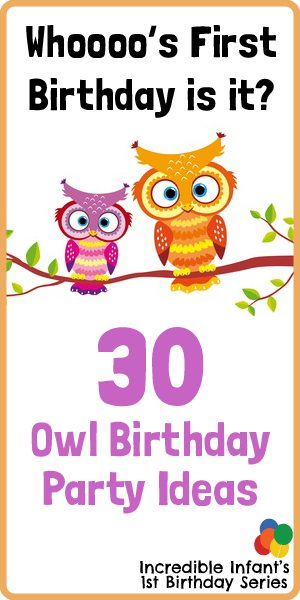Whoooo's First Birthday Is It? 30 Owl Birthday Party Ideas Worth Hooting Over - MightyMoms.club