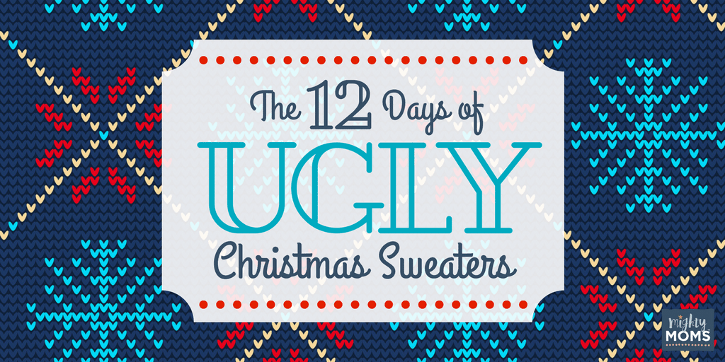 The 12 Days of Ugly Christmas Sweaters ~ Incredible Infant