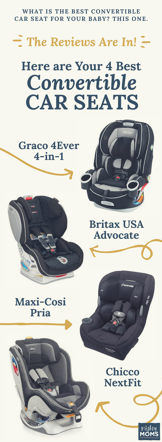What is the Best Convertible Car Seat for Your Baby? This One. - MightyMoms.club