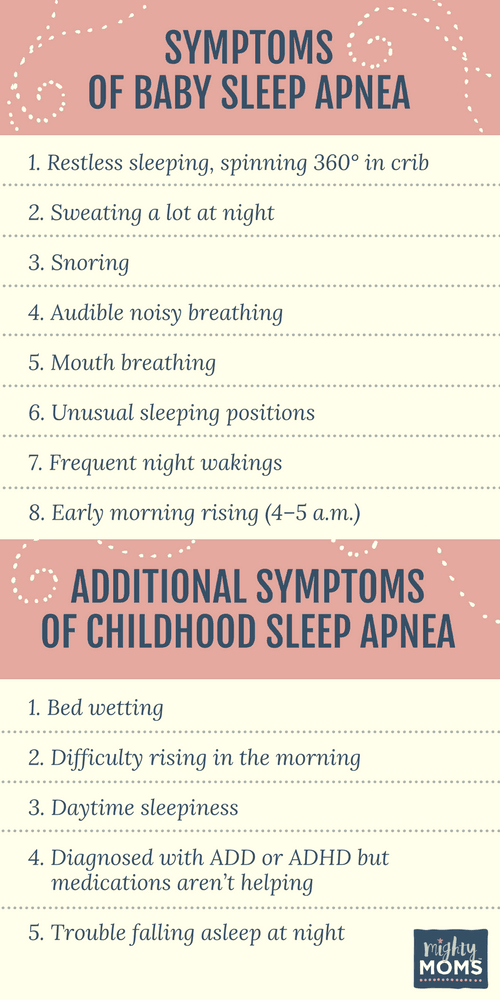 Does Your Baby Have Sleep Apnea? MightyMoms.club