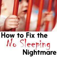 "How to Fix the ""Baby Not Sleeping"" Nightmare - MightyMoms.club"