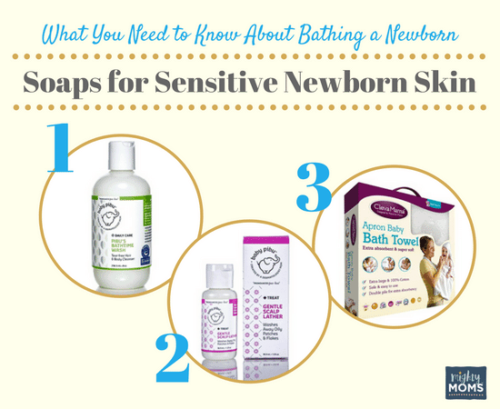 What You Need to Know About Bathing a Newborn - MightyMoms.club
