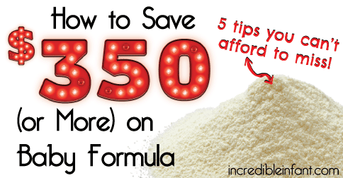 How to Save $350 (or More) on Baby Formula - MightyMoms.club
