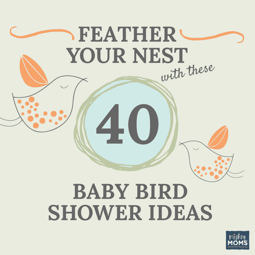 Feather Your Nest With These 40 Baby Bird Shower Ideas