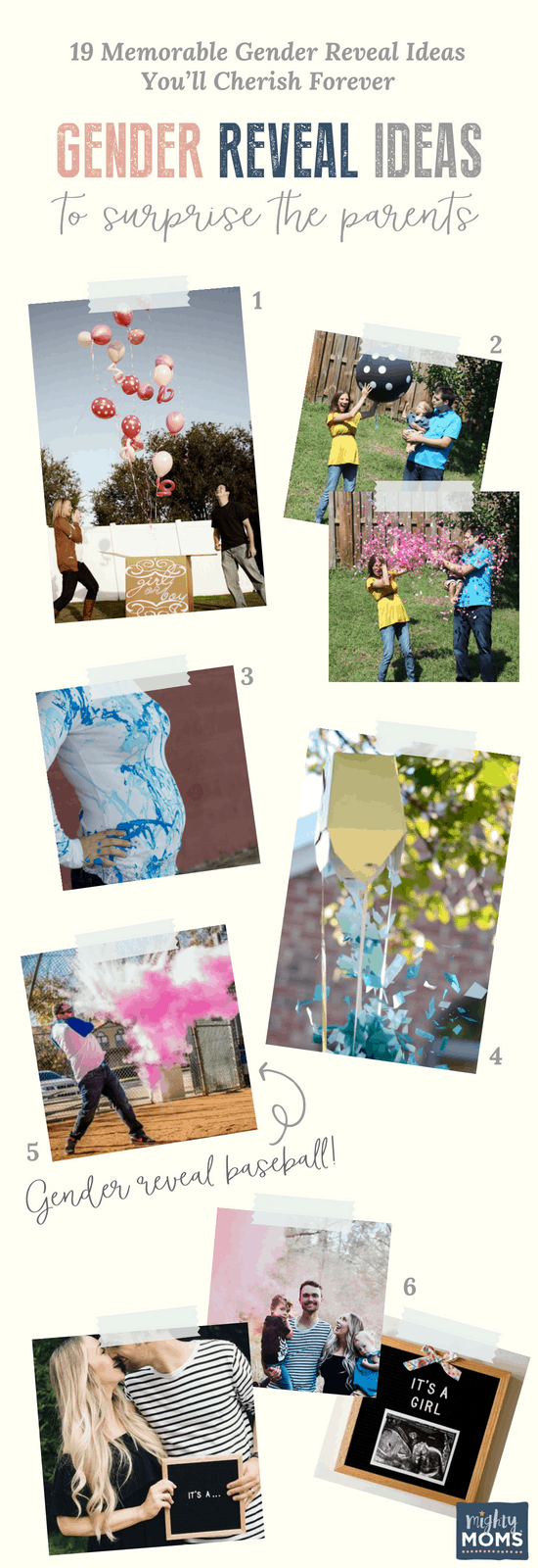 Gender Reveal Ideas for the Parents - MightyMoms.club