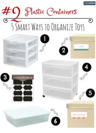 5 Creative and Stylish Ways to Organize the Toys in Your Home