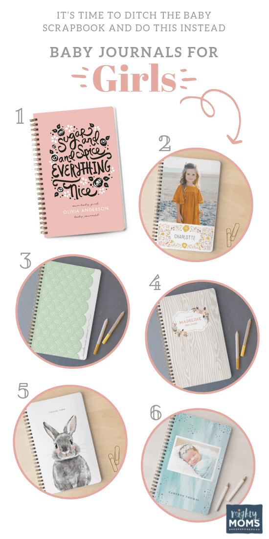 Precious Baby Journals for Girls - MightyMoms.club
