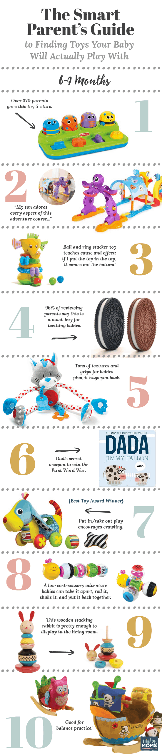 The Smart Parent's Guide to Finding Toys Your Baby Will Actually Play With - MightyMoms.club
