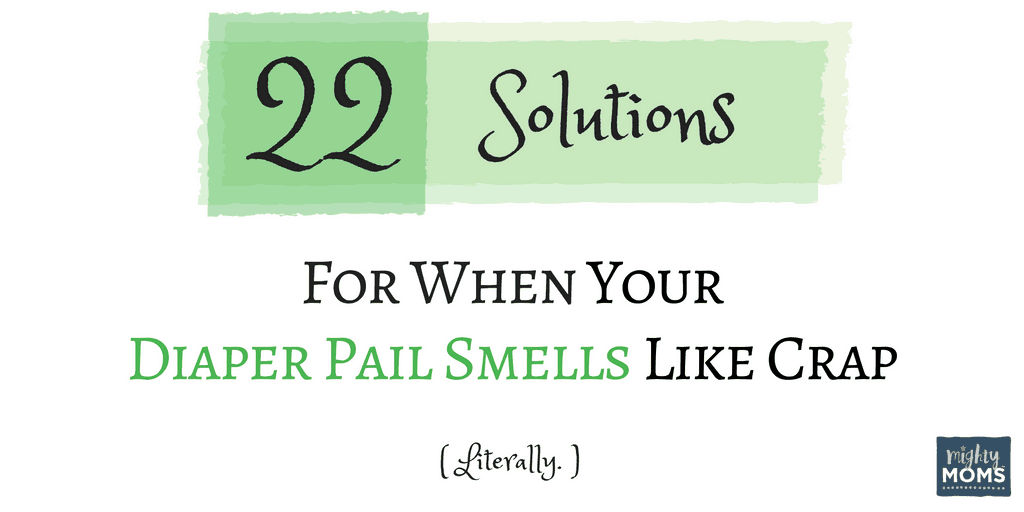 22 Solutions For When Your Diaper Pail Smells Like Crap (Literally) ~ MightyMoms.club