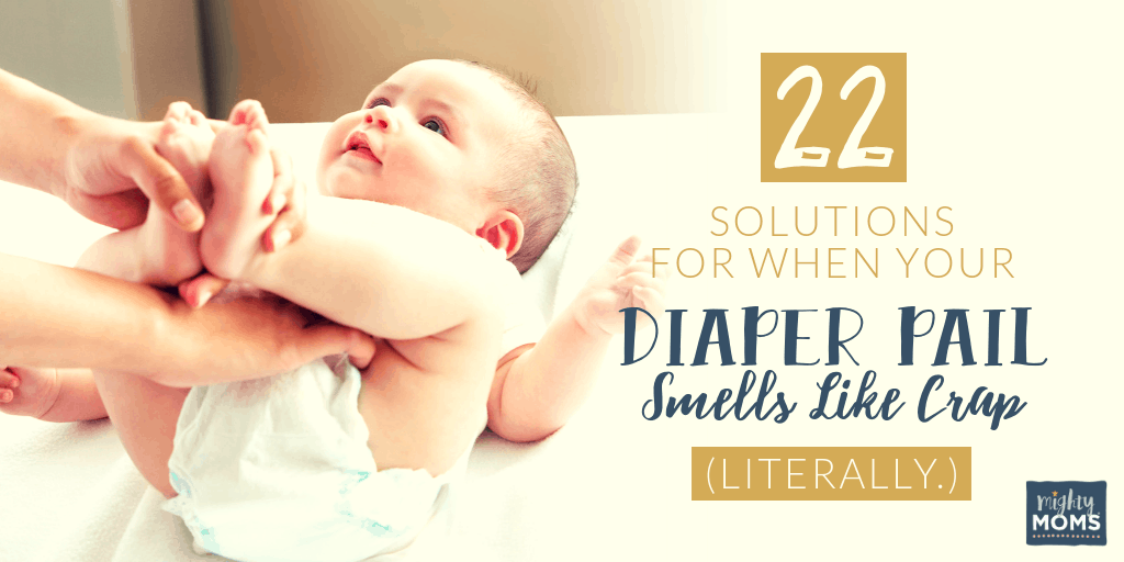22 Solutions for When Your Diaper Pail Smells Like Crap
