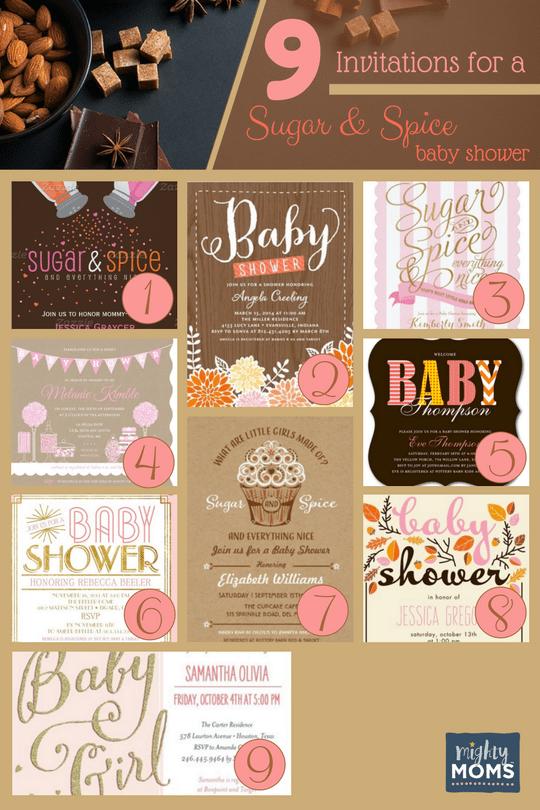 Elegant 36 Sweet Ideas For A Sugar U0026 Spice Baby Shower ~ MightyMoms.club