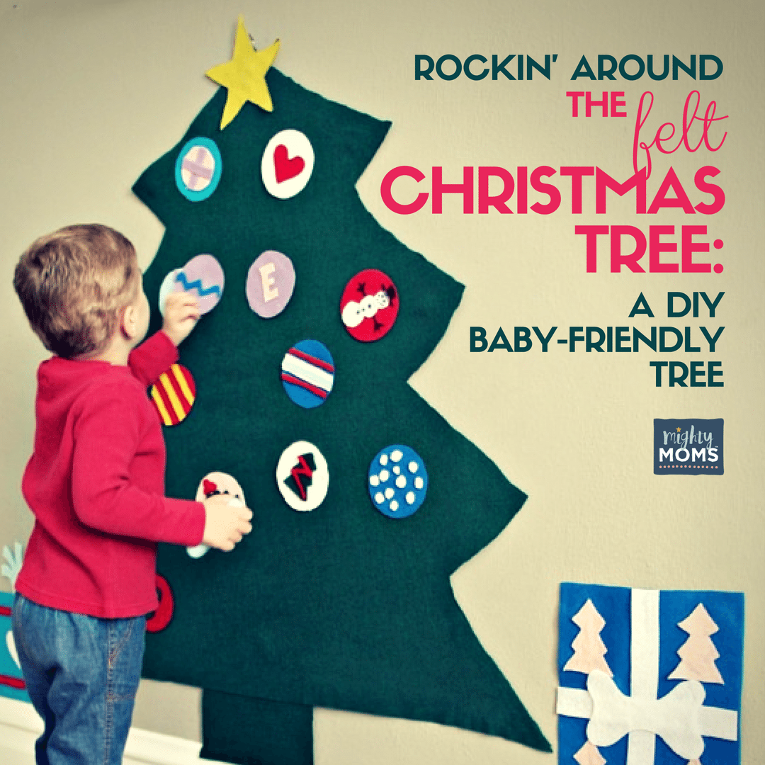 A DIY Baby-Friendly Felt Christmas Tree ~ MightyMoms.club
