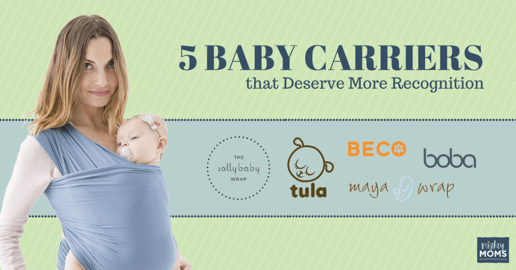 5 Of The Best Baby Carriers That Deserve More Recognition Mighty Moms
