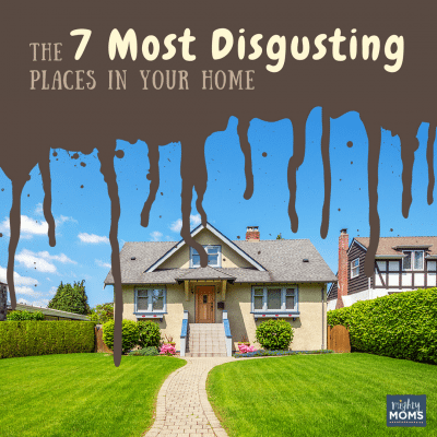 The 7 Most Disgusting Places in Your Home