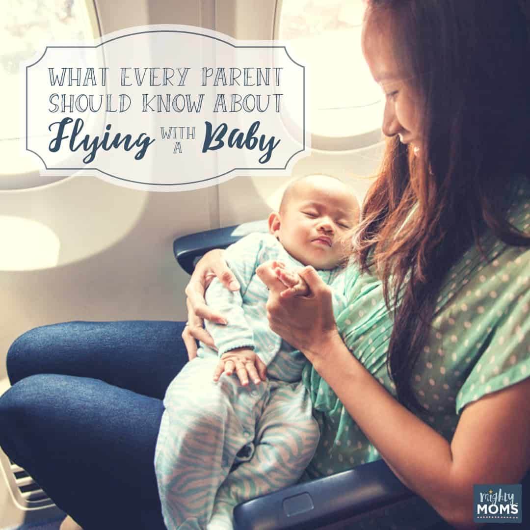 Flying with a baby doesn't have to be stressful. | MightyMoms.club