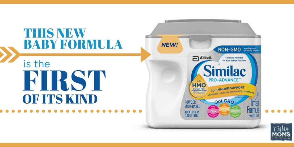 This New Baby Formula is the First of Its Kind ~ MightyMoms.club