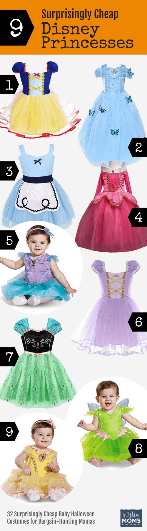 Cheap Disney Princess Baby Halloween Costumes - MightyMoms.club