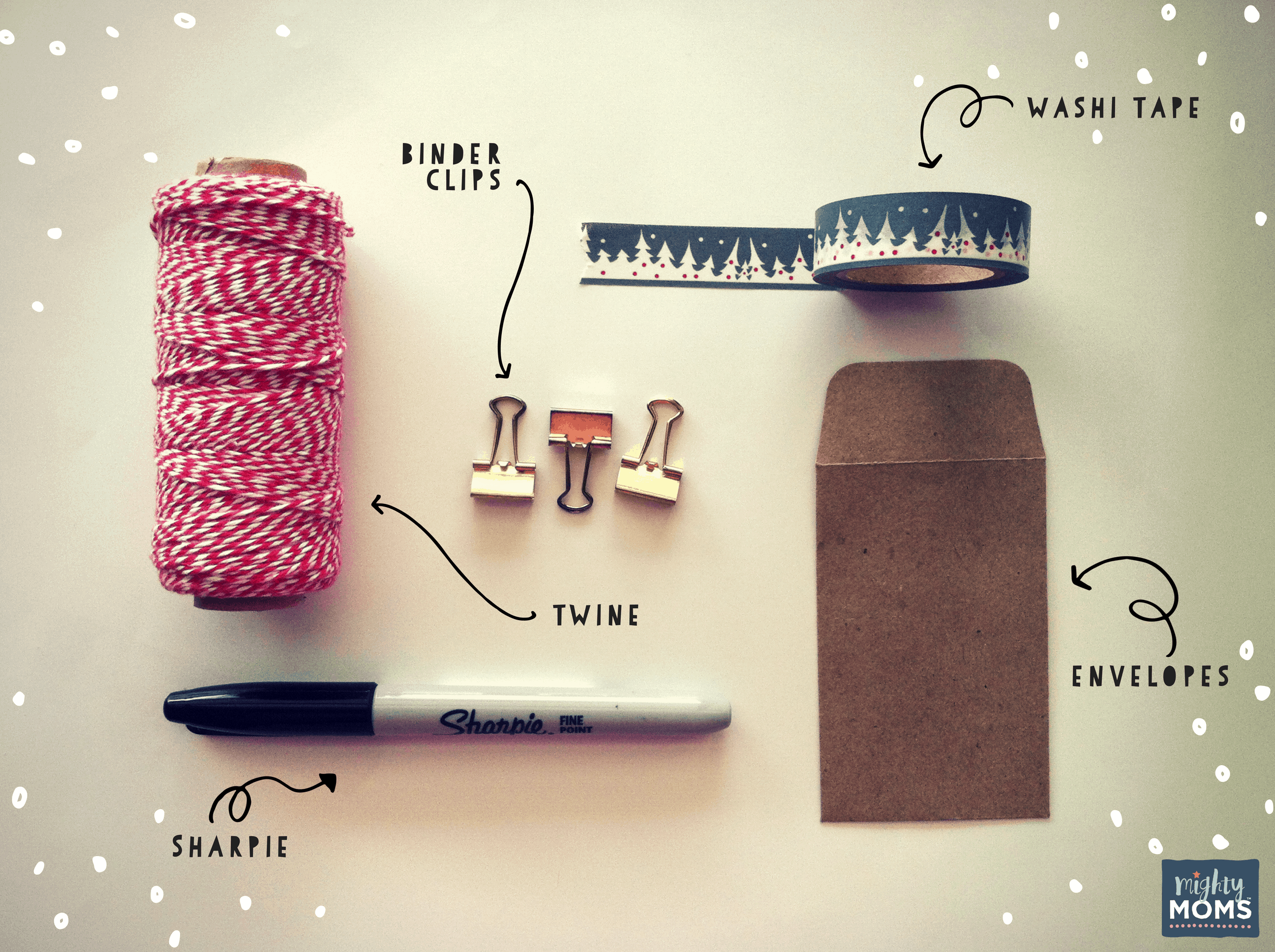 What you need for your DIY advent calendar - MightyMoms.club