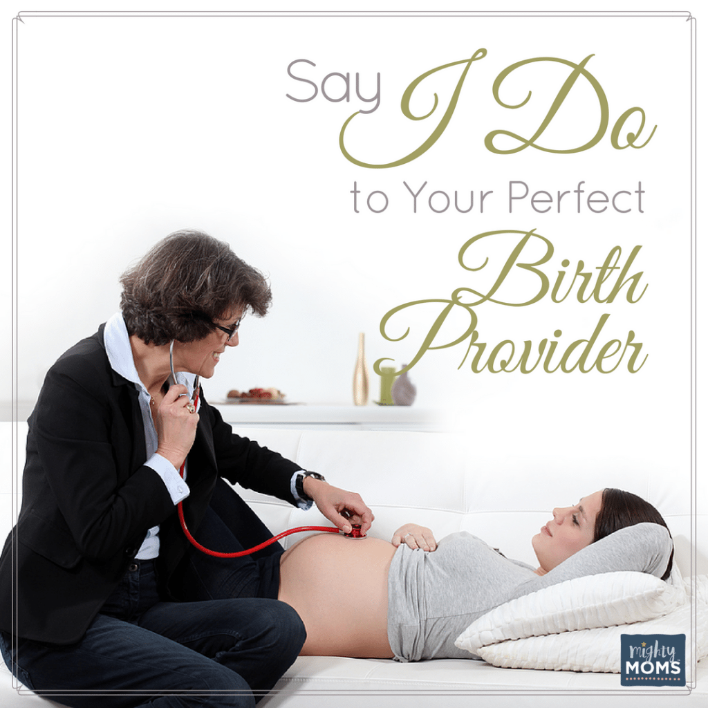 """Say """"I Do"""" to Your Perfect Birth Provider {Free Printable!}"""