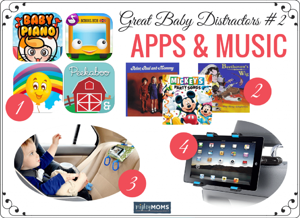 Tear-Free Baby Road Trips: Apps & Music ~ MightyMoms.club