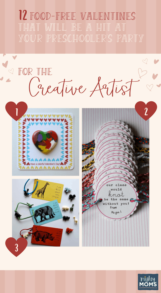 Preschool Valentines for the Creative Artist - MightyMoms.club