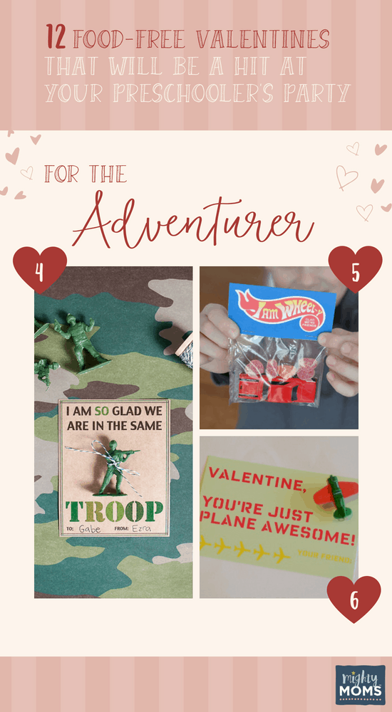 Preschool Valentines for the Adventurer - MightyMoms.club