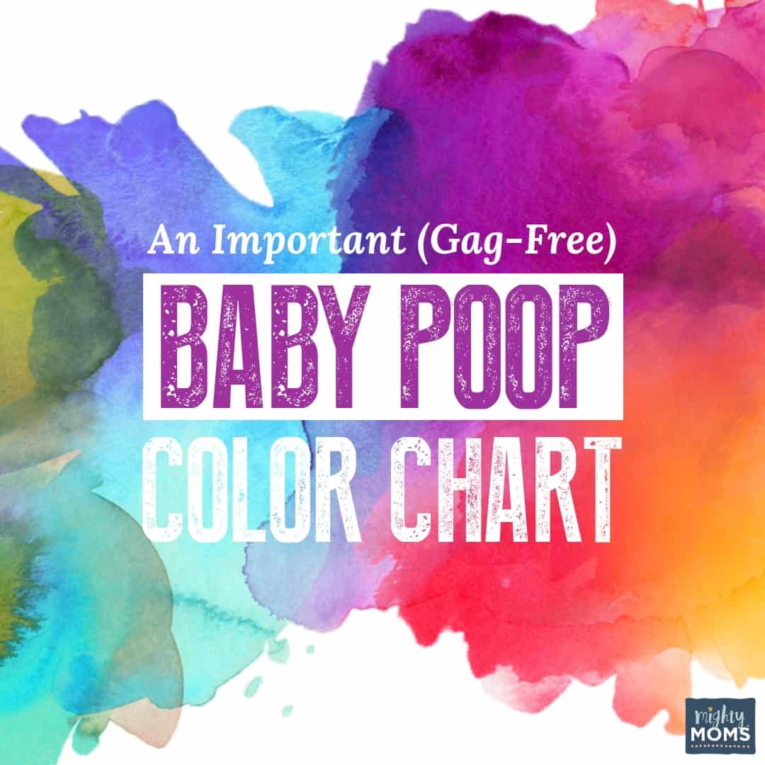 This baby poop color chart is extremely useful | MightyMoms.club