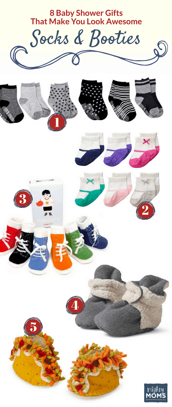 Unique Baby Shower Gifts for Adorable Feet - MightyMoms.club