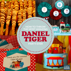 How to Throw the Most Amazing Daniel Tiger Party Ever - MightyMoms.club