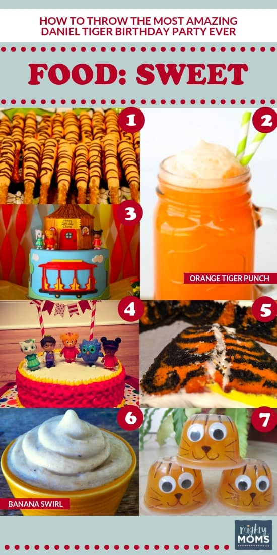 The Ultimate Daniel Tiger Birthday Party: 7 Sweet Desserts