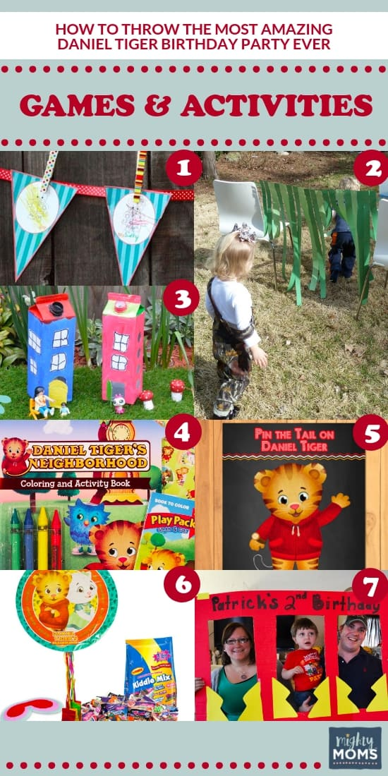 The Ultimate Daniel Tiger Party: 7 Game & Activity Ideas - MightyMoms.club