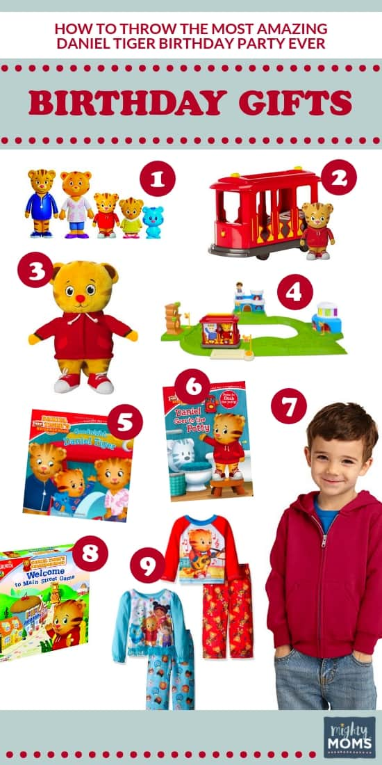 The Ultimate Daniel Tiger Birthday Party: 9 Birthday Gift Ideas - MightyMoms.club