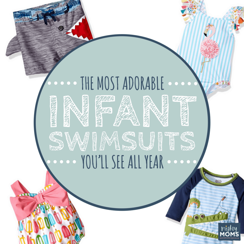 The Most Adorable Infant Swimsuits You'll See All Year